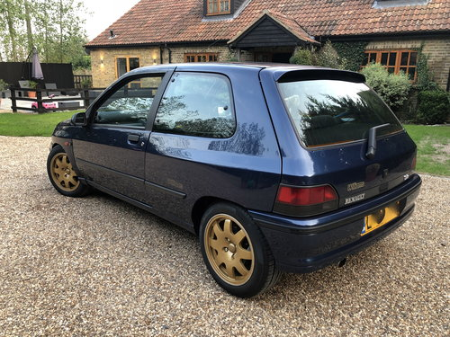 1994 RENAULT CLIO WILLIAMS 1, RESTORED FROM TOP TO BOTTOM SOLD (picture 2 of 6)