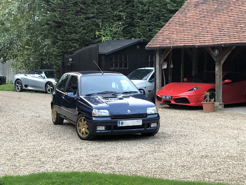 1994 RENAULT CLIO WILLIAMS 1, RESTORED FROM TOP TO BOTTOM SOLD (picture 5 of 6)