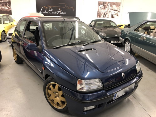 1994 RENAULT CLIO WILLIAMS 1, RESTORED FROM TOP TO BOTTOM SOLD (picture 6 of 6)