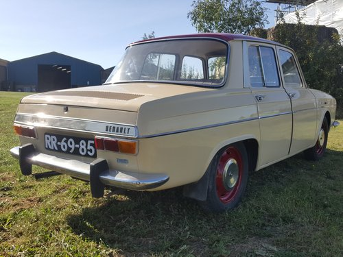 Renault 10 Major 1968 Now Fully Uk Registered For Sale (picture 3 of 6)
