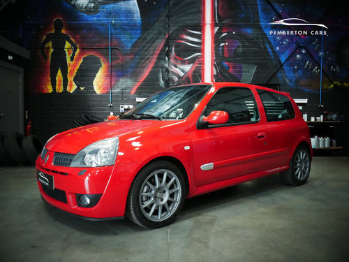 2005 Renault Sport Clio 182 Trophy X65 2.0 16V Capsicum Red SOLD (picture 3 of 6)