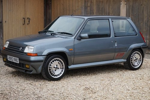 1989 RENAULT 5 GT TURBO 73K NUT AND BOLT RESTORATION DRY STORED For Sale (picture 1 of 6)