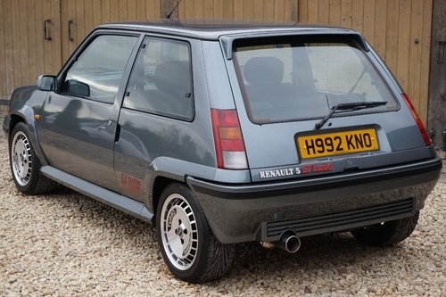 1989 RENAULT 5 GT TURBO 73K NUT AND BOLT RESTORATION DRY STORED For Sale (picture 5 of 6)