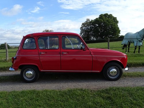 Lovely 1971 Renault 4,rare RHD car,exceptional condition. SOLD (picture 1 of 6)