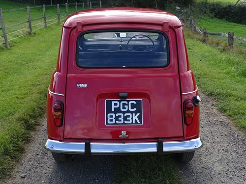 Lovely 1971 Renault 4,rare RHD car,exceptional condition. SOLD (picture 3 of 6)