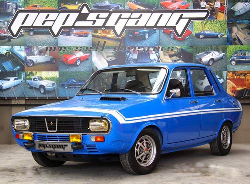 1973 Renault 12 gordini perfect car rare For Sale (picture 1 of 6)