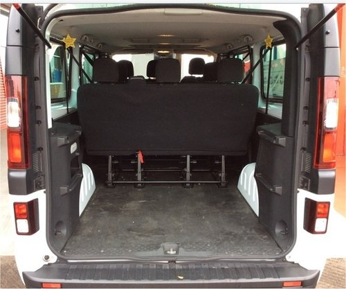 Vauxhall Vivaro 1.6CDTI 115 LWB 9 SEATER A/C CRUISE CONTROL, For Sale (picture 4 of 6)