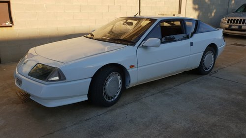 1987 VRY RARE ALPINE  V6 TURBO For Sale (picture 2 of 6)