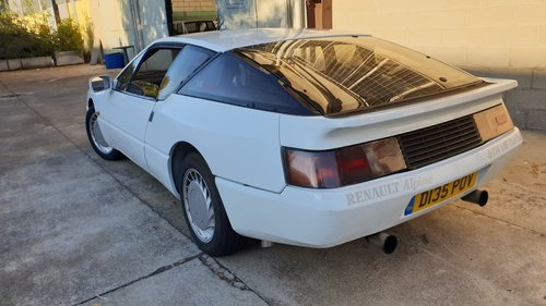 1987 VRY RARE ALPINE  V6 TURBO For Sale (picture 4 of 6)