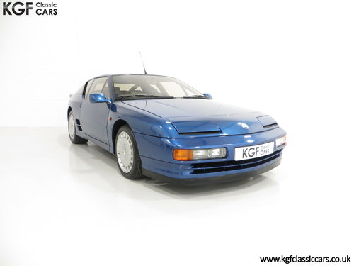 1992 A RHD Renault Alpine A610 Turbos with Only 2,518 Miles. SOLD (picture 1 of 6)