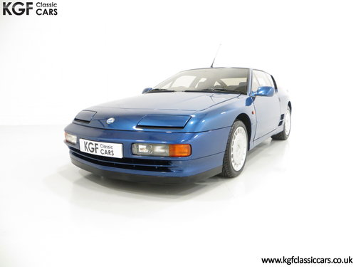 1992 A RHD Renault Alpine A610 Turbos with Only 2,518 Miles. SOLD (picture 2 of 6)