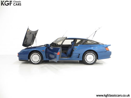 1992 A RHD Renault Alpine A610 Turbos with Only 2,518 Miles. SOLD (picture 3 of 6)