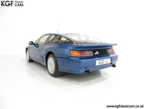 1992 A RHD Renault Alpine A610 Turbos with Only 2,518 Miles. SOLD (picture 4 of 6)