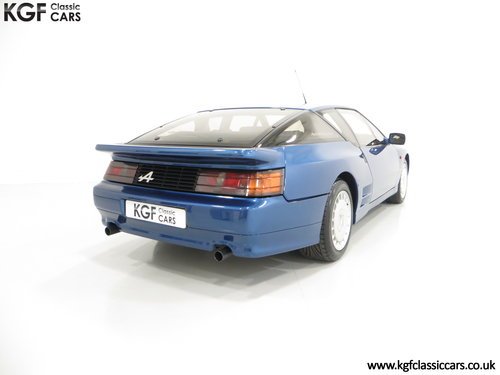 1992 A RHD Renault Alpine A610 Turbos with Only 2,518 Miles. SOLD (picture 5 of 6)
