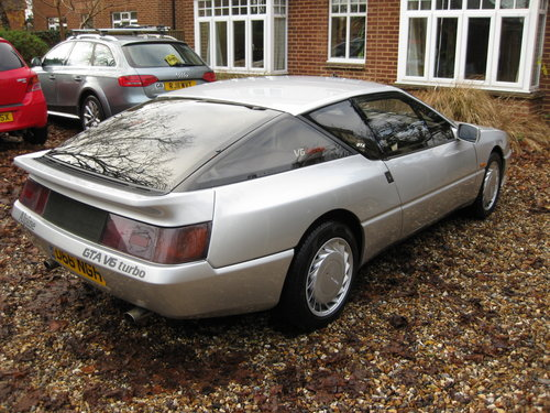 1987 Rare early Renault Alpine GTA V6 Turbo For Sale (picture 3 of 6)