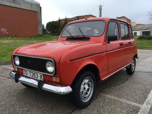 1987 RENAULT 4 TL 1108cc LHD SOLD (picture 1 of 6)