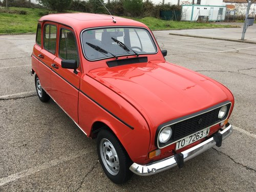 1987 RENAULT 4 TL 1108cc LHD SOLD (picture 2 of 6)