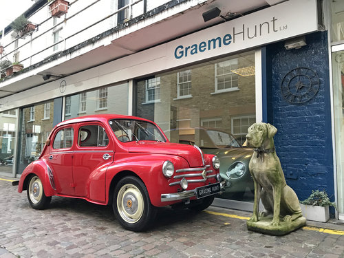 1961 Renault 750 / 4CV fully restored with many upgrades SOLD (picture 1 of 6)