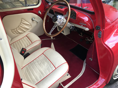 1961 Renault 750 / 4CV fully restored with many upgrades SOLD (picture 4 of 6)