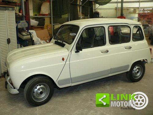 1985 Renault 4 GTL 1100 Certificata ASI For Sale (picture 1 of 6)