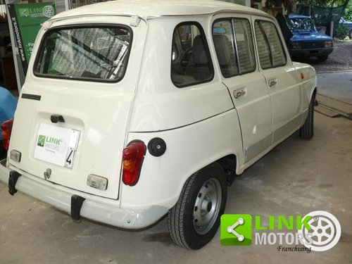 1985 Renault 4 GTL 1100 Certificata ASI For Sale (picture 2 of 6)