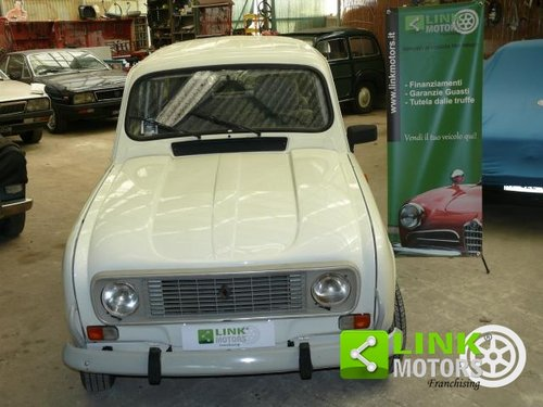 1985 Renault 4 GTL 1100 Certificata ASI For Sale (picture 3 of 6)