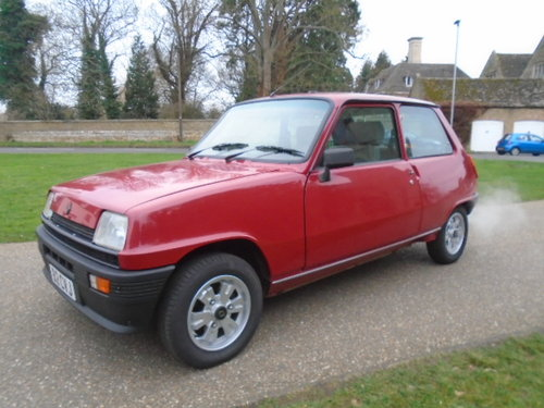 1985 Renault 5 GTL 1100cc 52K miles 3 owners.  For Sale (picture 2 of 6)