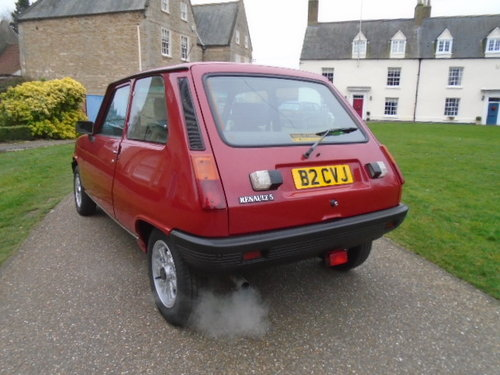1985 Renault 5 GTL 1100cc 52K miles 3 owners.  For Sale (picture 3 of 6)