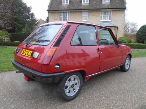1985 Renault 5 GTL 1100cc 52K miles 3 owners.  For Sale (picture 4 of 6)