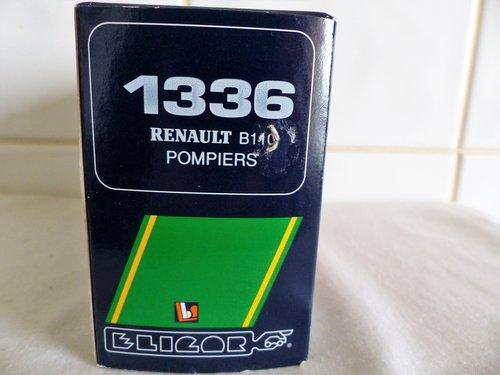 RENAULT B110-SAPEURS POMPIERS DE PARIS-1:43 For Sale (picture 6 of 6)