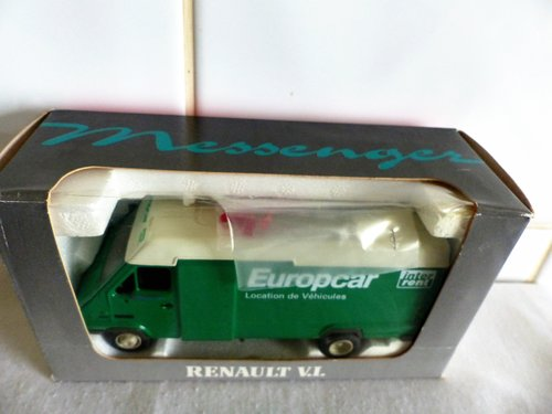 RENAULT MESSENGER-EUROPCAR-1:43 SCALE MODEL For Sale (picture 3 of 6)