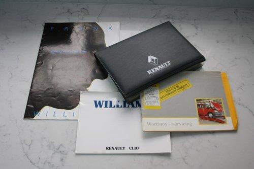 1994 Williams Clio SOLD (picture 5 of 6)