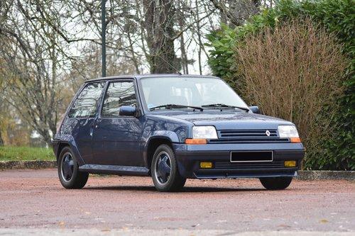 1990 Renault Super 5 GT Turbo