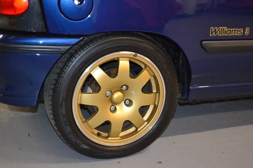1995 Clio Williams 3 with only 13,000 genuine miles For Sale (picture 6 of 6)