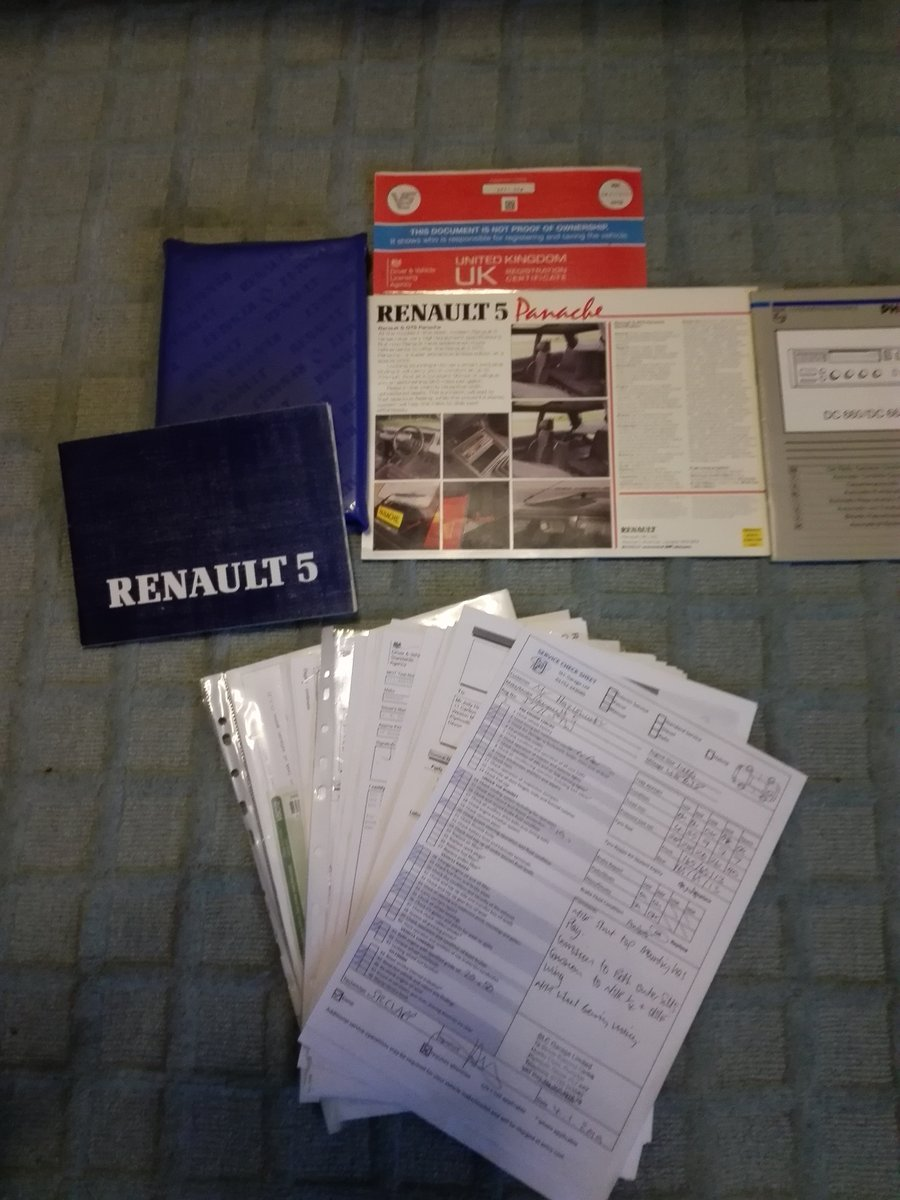 1986 Renault 5 GTS Panache  For Sale (picture 6 of 6)