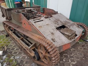 1943 Renault, Renault Tank, Renault UE, Renault UE Tank, Panzer,  SOLD