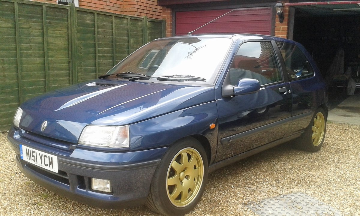 1995 Renault Clio Williams 2 For Sale by Auction (picture 1 of 6)