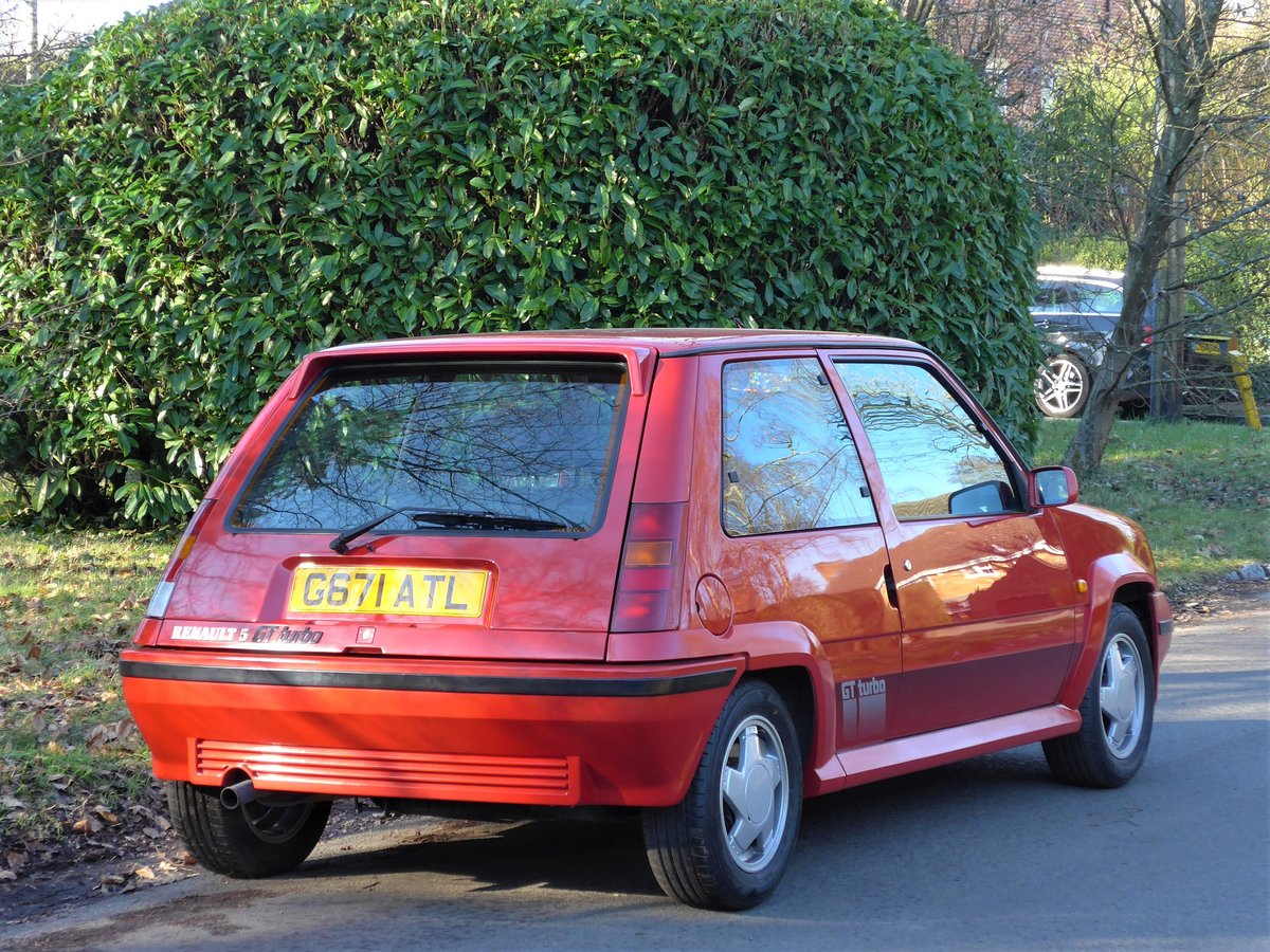 1989 Renault 5 GT Turbo - A Remarkable 27,000 Mile Car For Sale (picture 2 of 6)