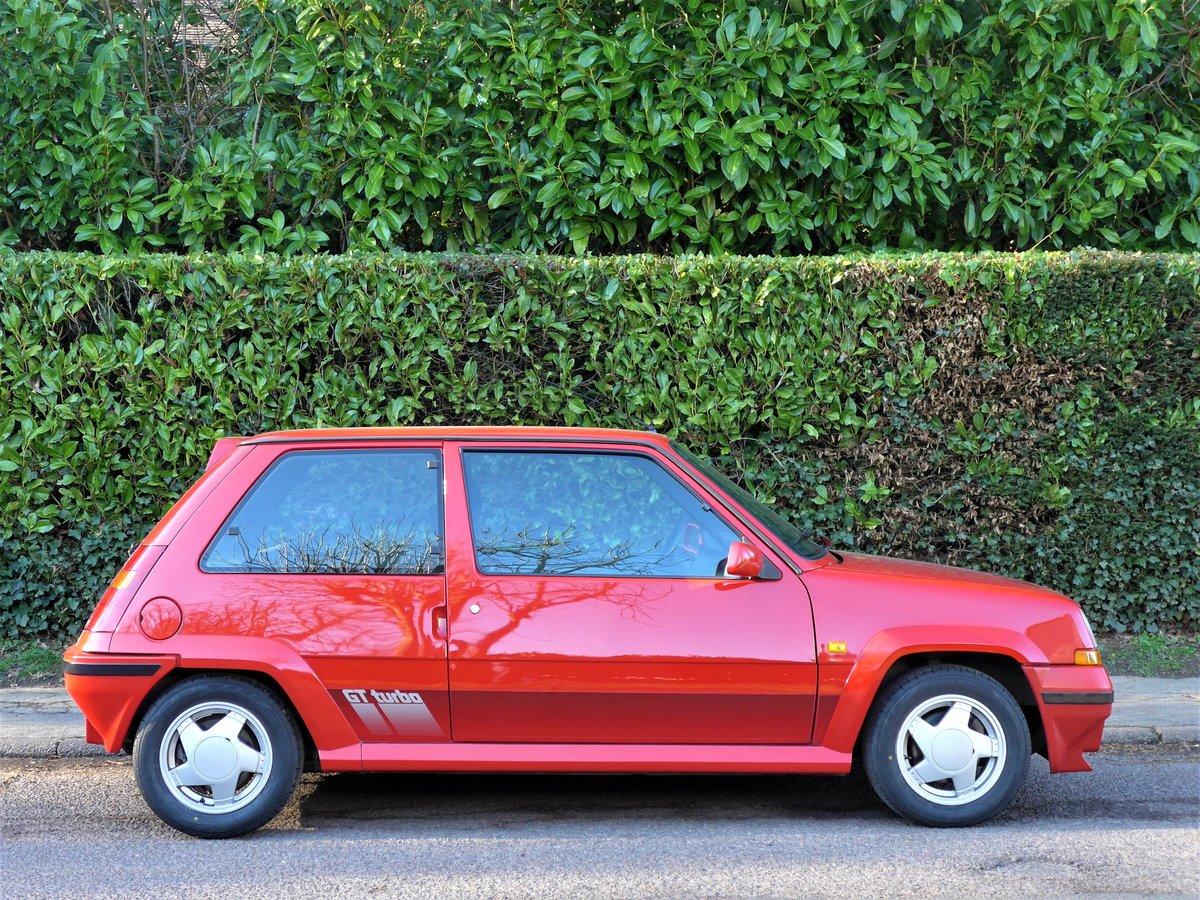 1989 Renault 5 GT Turbo - A Remarkable 27,000 Mile Car For Sale (picture 3 of 6)