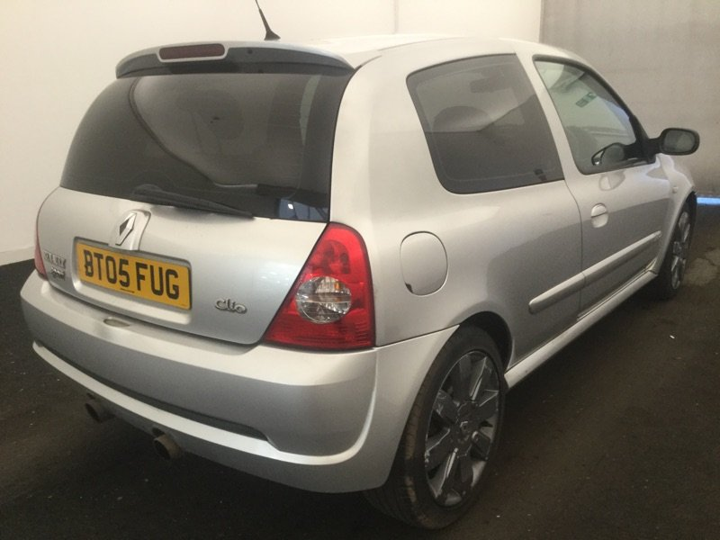 2005 RENAULTSPORT CLIO 182 RS 74000 FSH For Sale (picture 4 of 6)