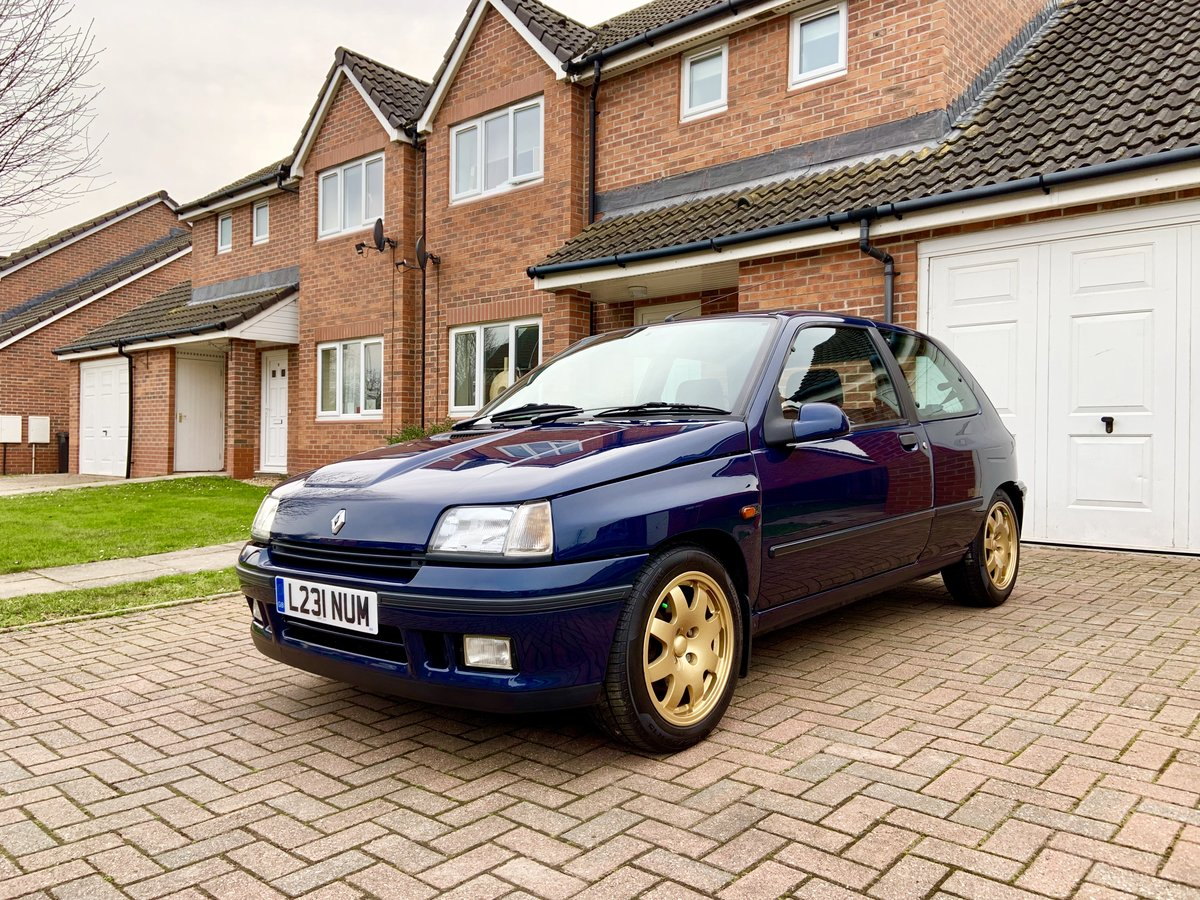1993 Renault Clio Williams 1 For Sale (picture 1 of 6)