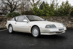 1986 Renault V6 GTA Turbo - Fabulous with just 35800 miles For Sale by Auction
