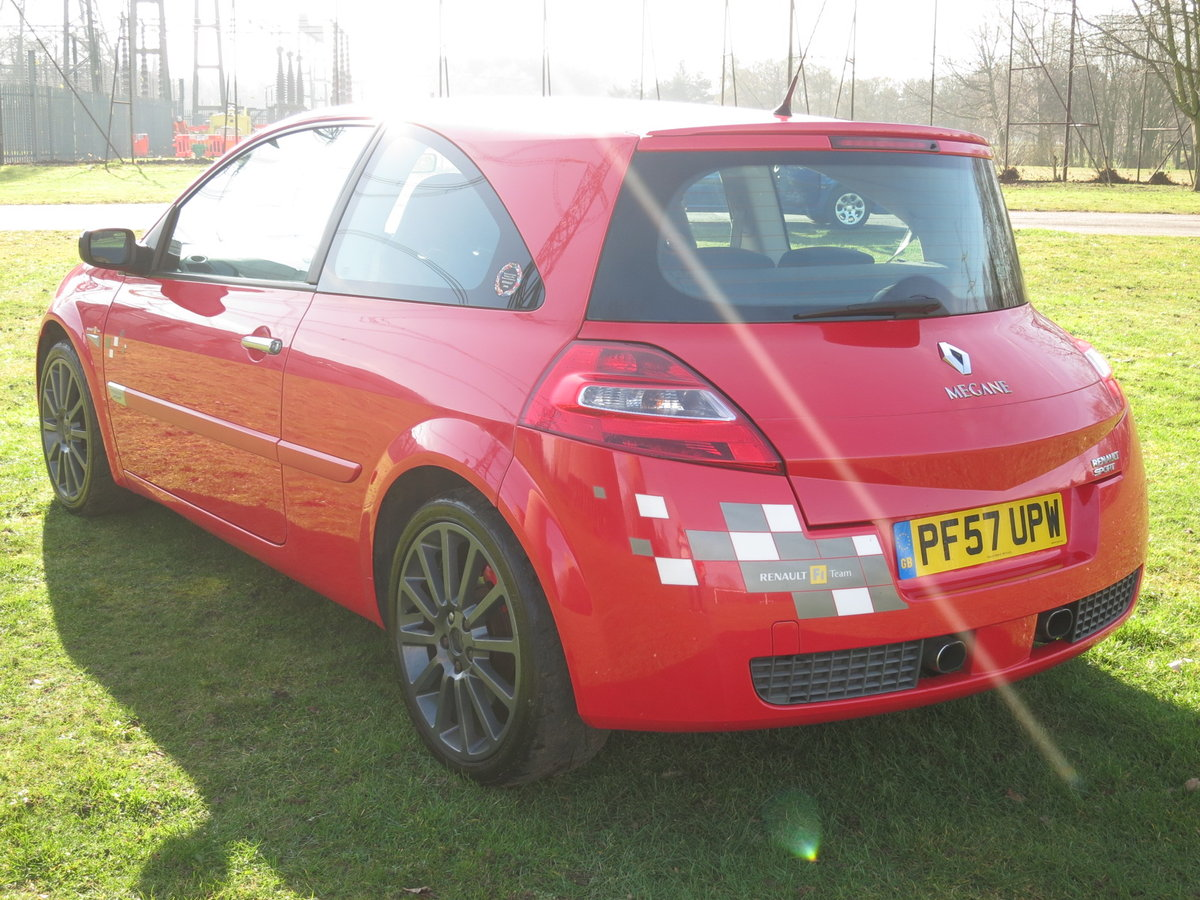 2007 `57` RENAULTSPORT MEGANE R26 F1 TEAM 86,000 MILES FSH SOLD (picture 4 of 6)