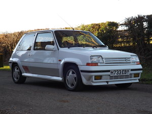 1990 Renault 5 GT Turbo - Just 66,000 miles Two Owners!! For Sale by Auction