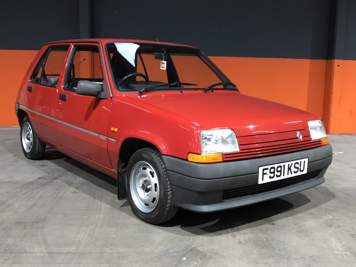 1989 RENAULT 5 CAMPUS  VERY LOW MILES 1 FORMER KEEPER For Sale (picture 1 of 6)