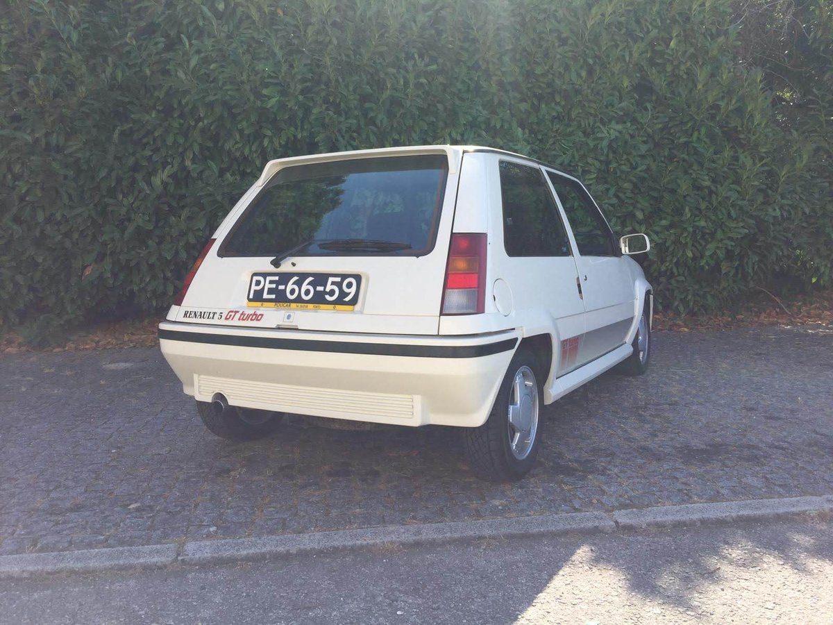 1988 Renault 5 GT Turbo - only 45.000 Km For Sale (picture 2 of 6)