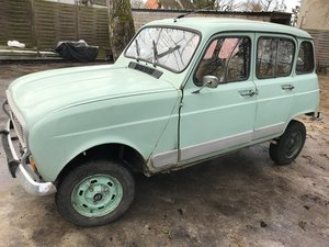 1982 4 wheel drive Renault 4 For Sale