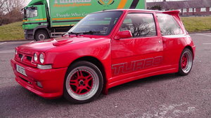 1989 RENAULT 5 GT TURBO CORSA RACING WIDE BODY For Sale