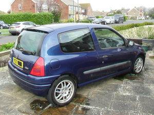 2001 Renault Clio 172 Sport (spares or repair) For Sale
