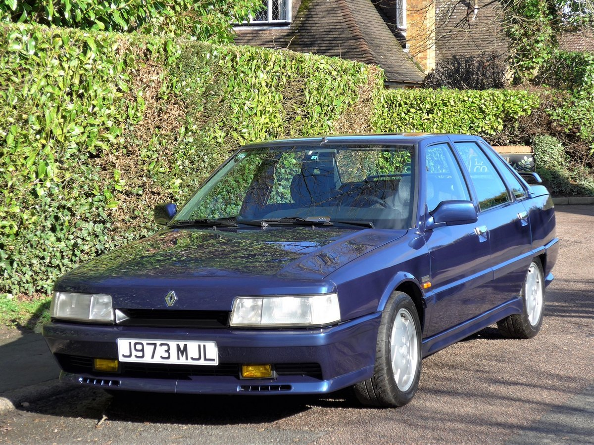 1992 RENAULT 21 TURBO - 27,000 miles. Exceptional. LHD. For Sale (picture 1 of 6)